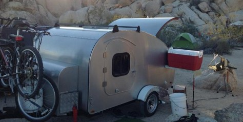 retro teardrop trailer