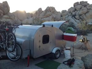 Joshua Tree National Park Teardrop trailer