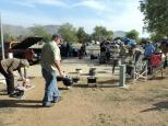 dutch oven cooking, teardrop trailer gathering, Lake Perris, 2014 gathering, camping, video, photos