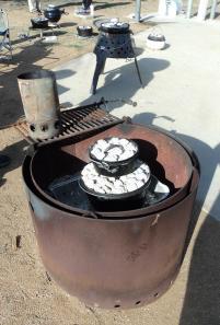 dutch oven cooking, teardrop trailer gathering, Lake Perris, 2014 gathering, camping, video, photos