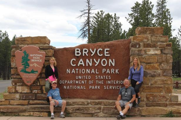 Bryce Canyon National Park, entrance