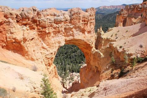 Bryce Canyon National Park, easy access view, accessibility, hoodoo heaven, natural bridge, awesome views