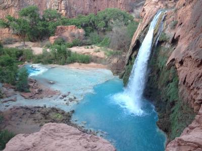 Havasu Falls, Grand Canyon, waterfalls