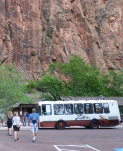 Zion National Park shuttle