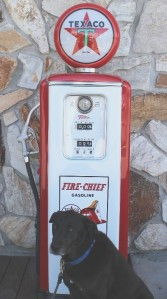 vintage gas pump, antique gas pump, Texaco, fire-chief