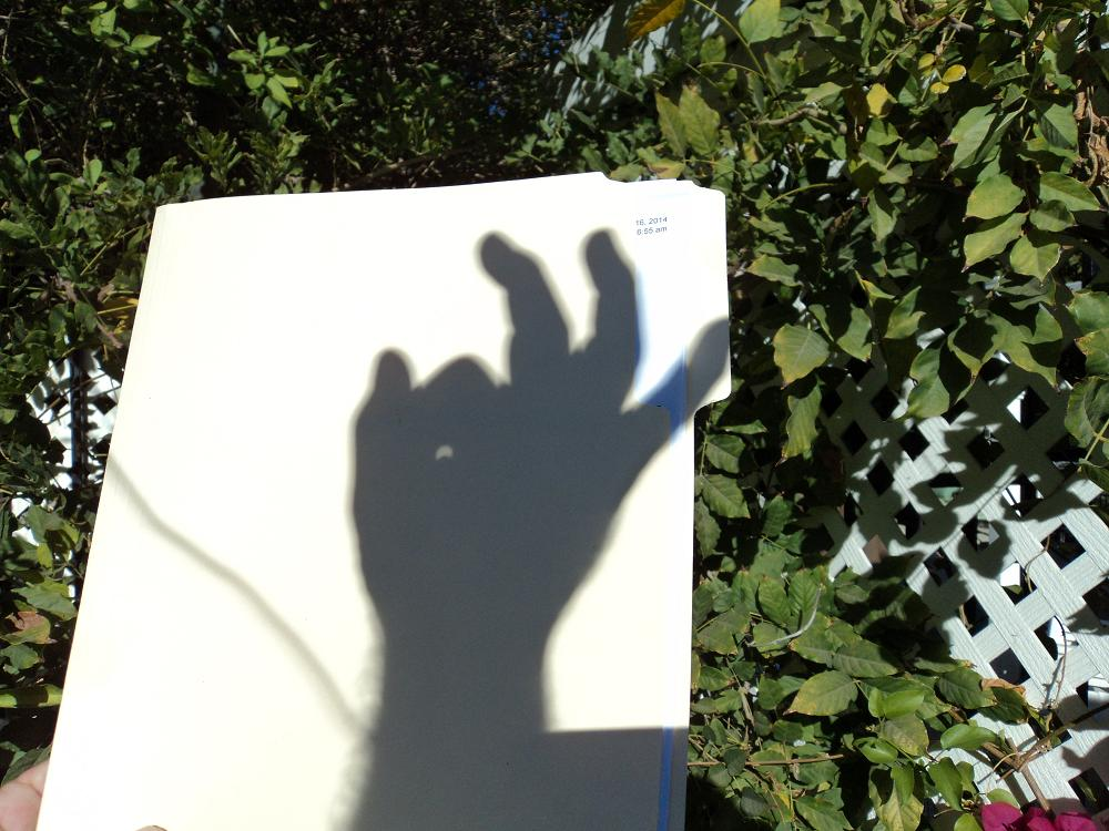 new method, new way of viewing a solar eclipse, safely viewing a solar eclipse, fun way of viewing solar eclipse