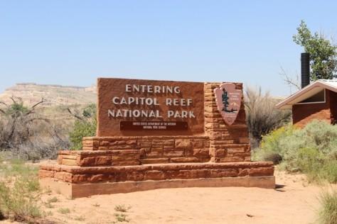 Capitol Reef National Park, Utah, teardrop trailer travels, vintage trailer travels,
