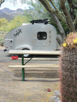 Lost Dutchman State Park Campground, AZ, Arizona, hiking, teardrop trailers, tiny campers, nature, camping, photography
