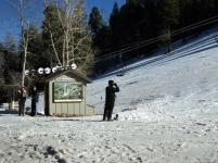 Skiing and snowboarding at Lemmon Mtn