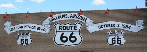 Williams, AZ, Arizona tourism, Route 66