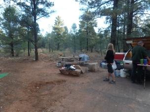 Grand Canyon Nationa Park, South Rim, Mather Campground