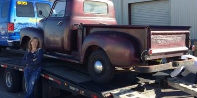 restore, rebuild, re-use, vintage Chevy 3100 truck