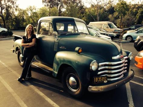 restore, rebuild, re-use, vintage Chevy 3100 truck