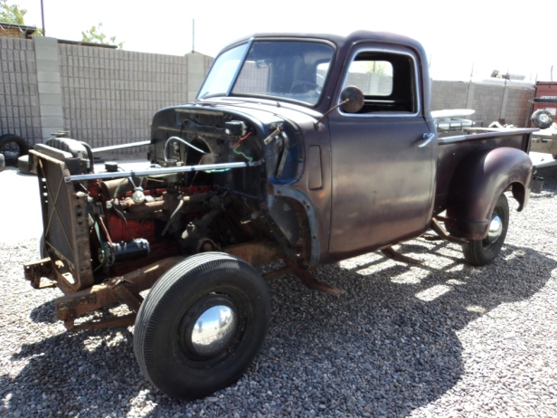 Chevy 3100 pick-up truck, restoration, rebuild, restore, built from scratch, body, old chassis, new chassis, Teardrop Adventures, teardrop trailers