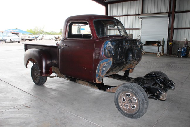 how to restore an old chevy truck
