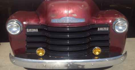 1950 Chevy 3100 pickup truck restoration rebuild