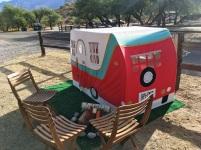 Catalina State Park, Tuscon, Arizona, vintage trucks, vintage trailers
