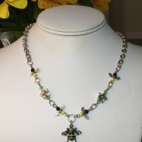 bee jewelry, nature jewelry, environmental sustainability, bee populations, fundraising, custom jewelry, honey bee jewelry