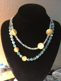Summer Sun and Beach Necklace