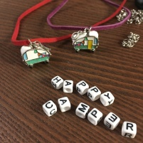 Happy Camper necklaces