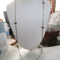9) Extra long bee necklace
